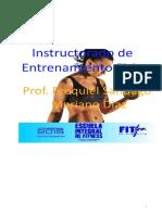 Curso Intructorado de Entrenamiento Fisico