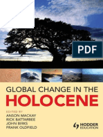 Global Change in the Holocene (Anson Mackay Et Al Eds.)