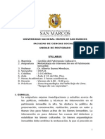 Metodologia de Intervencion en El Patrim Inmueble-BUENO MENDOZA ALBERTO