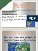 Pronosticos Ambientales y Evaluacion Alternativas.