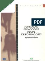 FormaÇÃo PedagÓgica Inicial de Formadores - Referencial