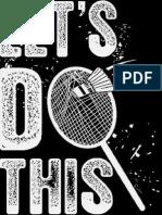 badminton design