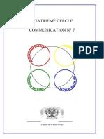Cénacle de La Rose-Croix - Comm 7 cercle 4