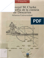CLARKE, D. M. La Filosofía de La Ciencia de Descartes