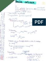 Cálculo (1º y 2º Parte)
