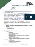 Curso Libre Gestion de Proyectos Con Msproyect