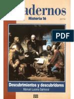 Cuadernos Historia 16 088 1997 Descubrimientos Y Descubridores