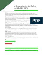 Solas Stcw Summary