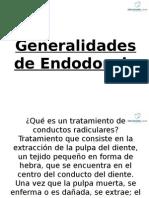 Generalidades de Endodoncia