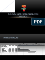 7-Eleven User Profile Migration Project2