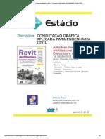 Autodesk Revit Architecture 2013 - Conceitos e Aplicações-201102050067-TC9411F5B 1