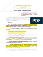 Decreto Nº 5.840 - 2006