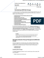 Administering ASM Disk Groups