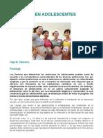 Embarazo en Adolescentes de Lima