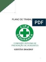 Plano de Trabalho Cipa Gestão 2014_2015_urc