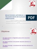 REACCIONES ADVERSAS A LA TRANSFUSION DE SANGRE.pptx