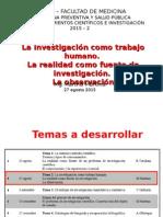 Clase Investigac 27 Agosto 2015
