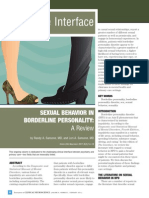 Behavior in Individuals With Borderline Personality Disorder