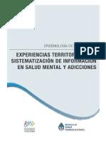 Experiencias Territoriales de Sistematización de Información en Salud Mental y Adicciones