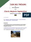 GROSPARMY Nicolas - Le Trésor Des Trésors Ou Clavis Majoris Sapientiae