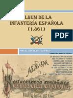 Album Infanteria Española 1861