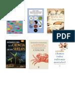 Libros de  Ciencias