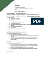 Short Notes Sports Medicine
