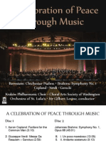 Celebration of Peace Through Music (Orchestra of St. Luke's, g. Levine)