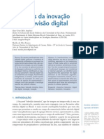 Aspectos da Inovação para Televisão Digital