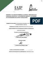 DZILAMBRAVO PlandeDesarrollo 2012-2015