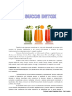 Receitas Sucos Detox