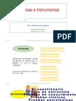 Técnicas e Instrumentos Seminario de Tesis II