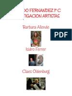 Facundo Fernandez 1º c Investigacion Artistas Barbara