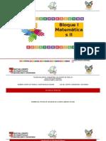 Secuencia Matematicas II Bloque 1