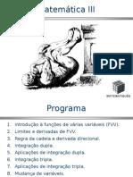 função de várias variáveis ppt.ppt