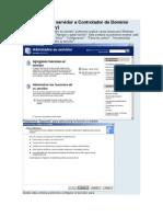 Promocionar El Servidor a Controlador de Dominio ACTIVE DIRECTORY