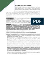 Reclamação Constitucional PDF