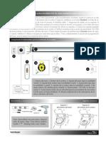 El Proceso de Instalacion de Una Cortina Enrollable EOS 50 Con Motor Standard, Receptor Centralis y Control Remoto Telis