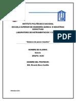 1.-Practica de Pesos Muertos Lab Instrumentacion ESIQIE