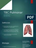 Patologia TBC pulmonar