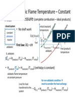 5 - Thermodynamics - Adiabatic Flame Temperature