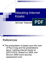 Attacking Internet Kiosks