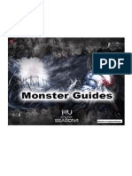 MU Online Season 4 Monsters Stats Guides