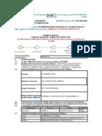 MOROCHUCO Codigo SNIP Del Proyecto de Inversión Pública