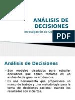 Análisis de Decisión