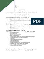 Jobswire.com Resume of victoriaejones