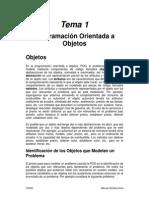Tema 1 - Programación Orientada a Objetos