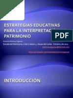 Monroye 2011estrategiaseducativasparalainterpretacindelpatrimonio 111004114355 Phpapp01