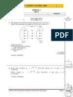 241475982 SPM 2014 Add Math Modul SBP Super Score Lemah K1 Set 1 Dan Skema