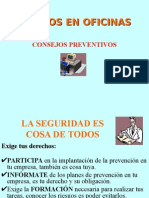 Riesgos de Oficinas Consejos Preventivos